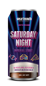 Saturday Night by Smartmouth Brewing Company